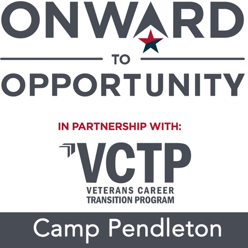 Onward to Opportunity - Camp Pendleton